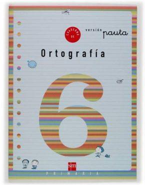 Cuaderno 6 de ortografía, Pauta. 2 Primaria