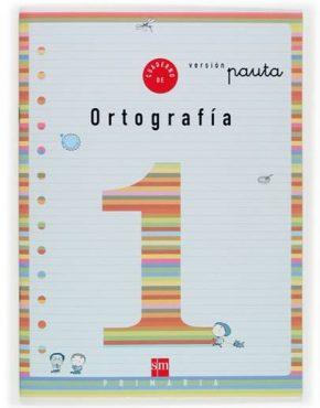 Cuaderno 1 de ortografía, Pauta. 1 Primaria