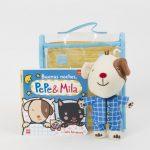 Pack de Buenas noches, Pepe & Mila (con muñeco de Pepe en pijama)