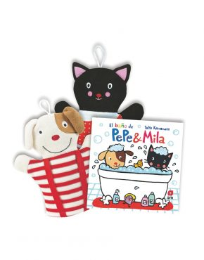 Pack de El baño de Pepe & Mila + manoplas