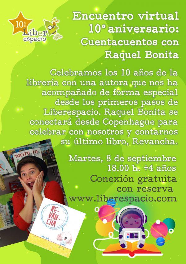 Sesión de video-cuento con Raquel Bonita
