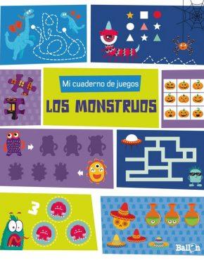 Mi cuaderno de juegos de los monstruos