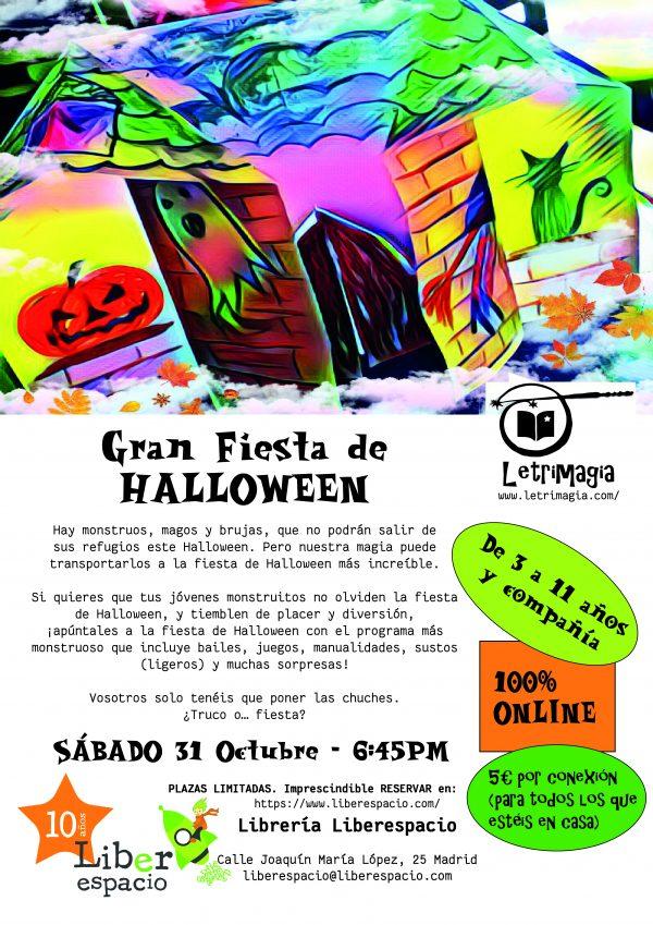 Fiesta virtual de Halloween 2020