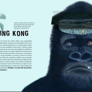 king Kong piensa