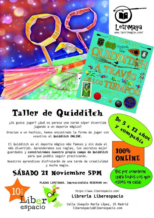 Taller virtual de Quidditch