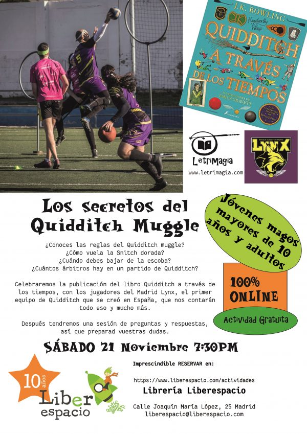 Los secretos de Quidditch Muggle