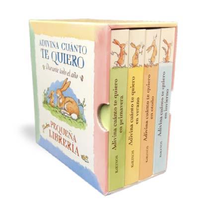 Adivina cuánto te quiero pequeña libreríaAdivina cuánto te quiero ...durante todo el año. Pequeña librería
