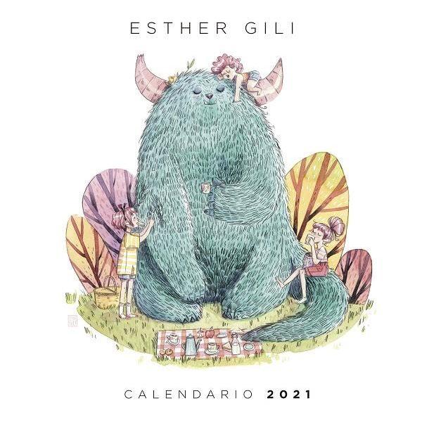 Calendario 2021 Esther Gili