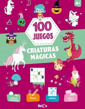 Criaturas mágicas. 100 juegos