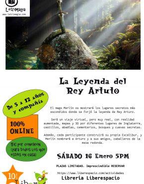 CARTEL LEYENDA REY ARTURO