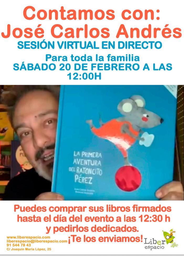 Cuentacuentos virtual con Jose Carlos Andrés