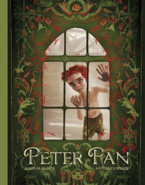 Peter Pan ilustrado por Antonio Lorente
