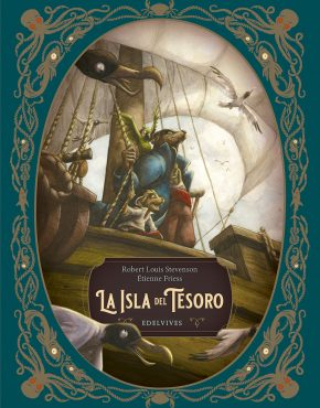 La isla del tesoro (Ilustrados Edelvives)