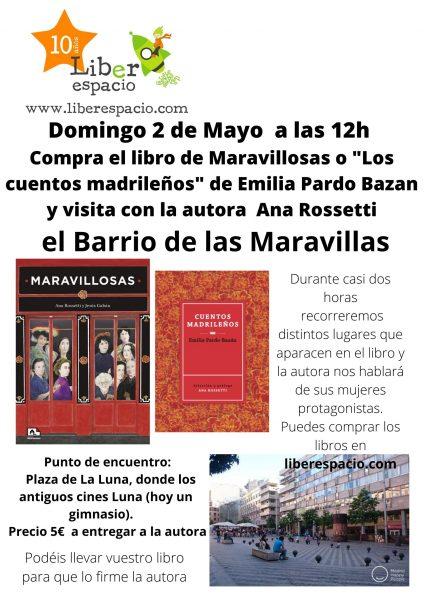 Visita con Ana Rossetti por el Barrio de las Maravillas