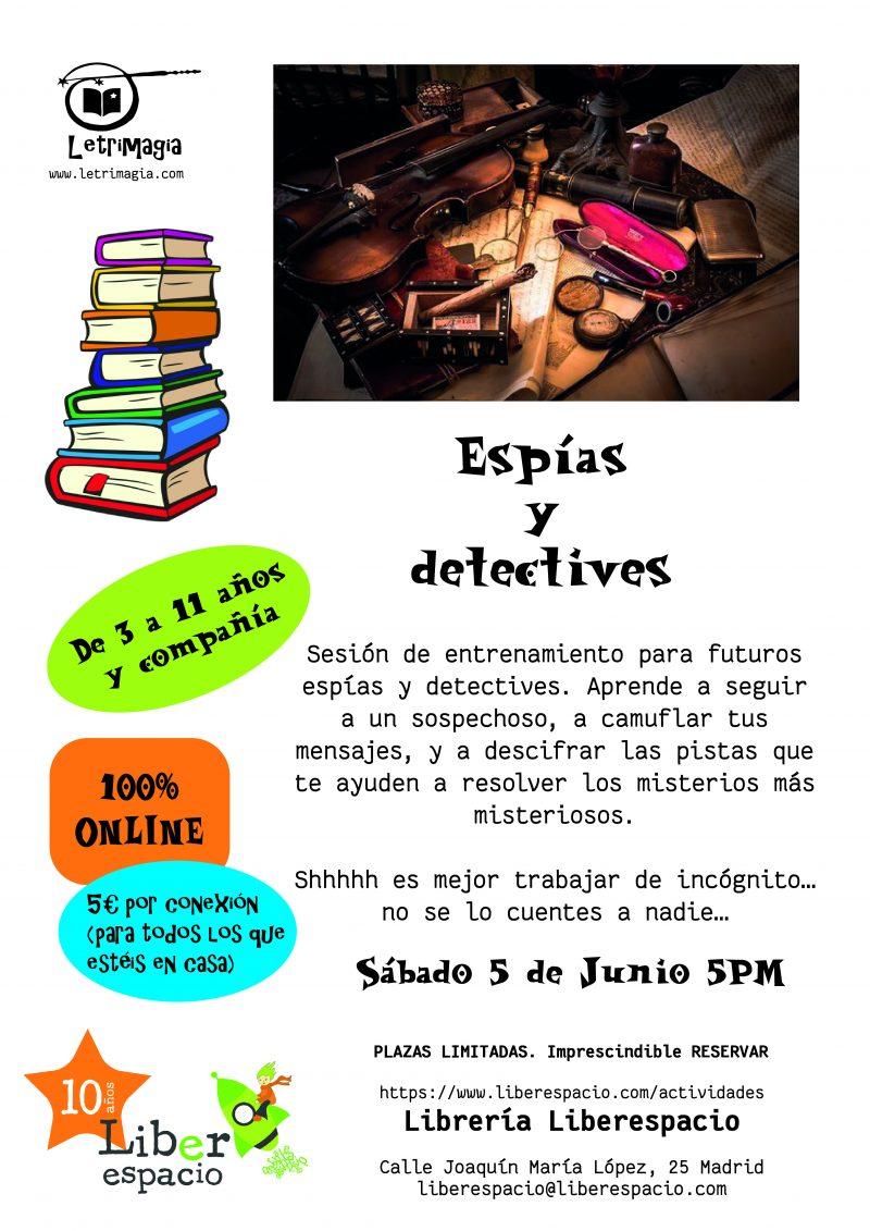 """Taller virtual """"Espías y detectives"""""""