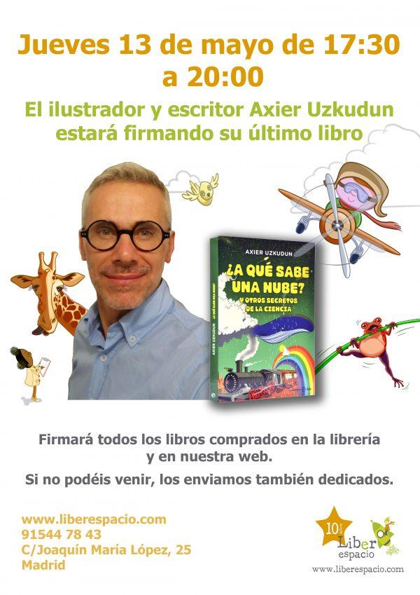 Firma de libros con Axier Uzkudun