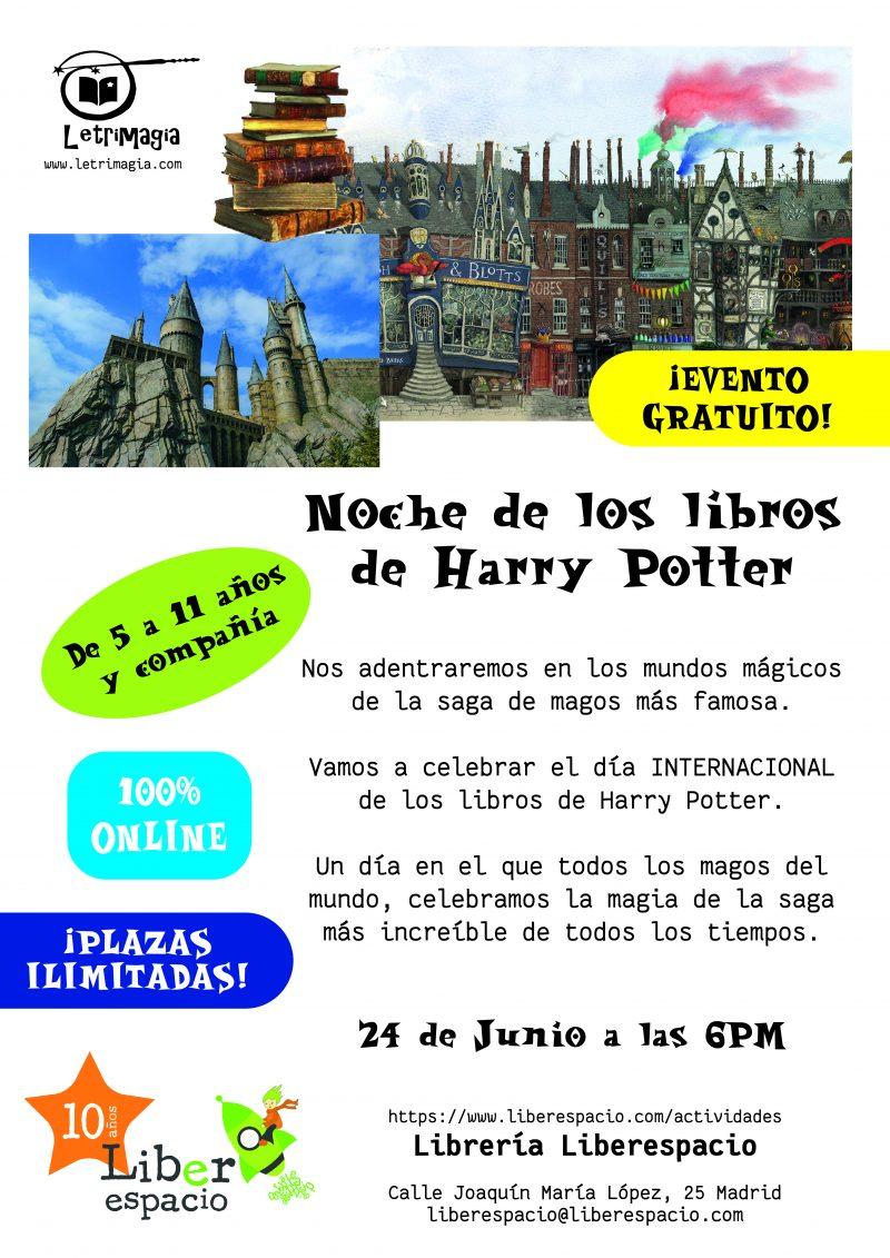 La noche de Harry Potter