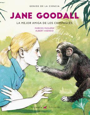 Jane Goodall, la mejor amiga de los chimpances